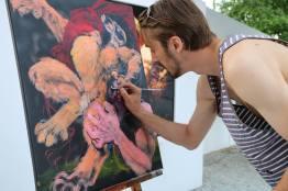 Cédric Taillon - Live Painting