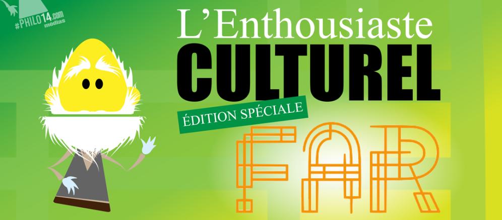 Philo14 - Enthousiaste culturel avec Rénald