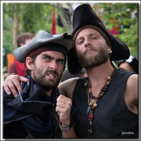 Jonathan Hardy et Philipe Desmarais - PiratesPhoto : Gordon Campey